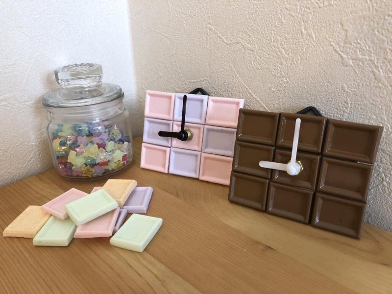 チョコレート時計