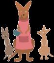 kangaroo-family